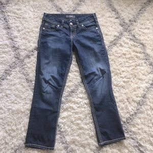 Silver Jeans Suki Capri size 27